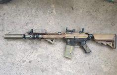 Colorful!! #icsairsoft #icsgun #icsbb #airsoft #M4gun #AEG #airsoftgun #customgun #loveairsoft #airsoftlove #rifle