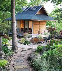 Japanese Garden Buildings