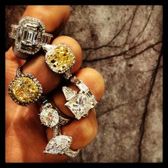 #Diamonds #jewels all by #ANTONjewellery Anton Jewellery #whitediamonds #fancy yellow #diamonds