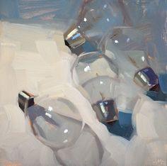 'Bits' bulbo de Carol Marino sobre el pintor Savvy