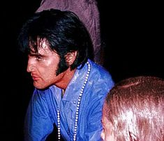 Elvis at The Gates of Graceland 1969