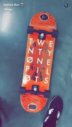Josh's Snapchat. 2/16/17. I want one. And I don't even skateboard.