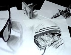 """Check out new work on my @Behance portfolio: """"Anamorphic Drawings"""" http://be.net/gallery/32422073/Anamorphic-Drawings"""