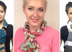 In just 7 minutes, this lady would teach you how to wear your scarf in 15 different and new ways! I am so impressed! The best thing is that the winter is coming and it is going to be festive season in the air soon, with Christmas spirit. Winter Is Coming, Fashion Beauty, Crochet Necklace, Abs, Sewing, How To Wear, Pandora, 7 Minutes, Girls