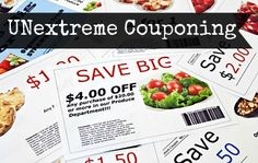 unextreme couponing how to