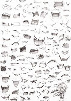 Image result for drawing mouth