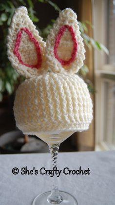 Bunny Foo Foo hat by She's Crafty Crochet www.facebook.com/shescraftycrochet