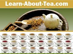 Educational resource covering all aspects of tea including loose leaf varieties, health benefits, selection, brewing techniques, accessories, gift-giving and entertaining.