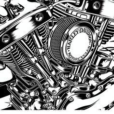 http://dvicente-art.prosite.com/19801/493361/illustration/design-for-harley-davidson-us