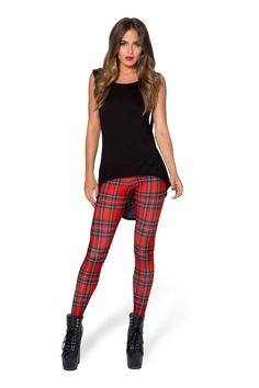 Tartan Red Toasties › Black Milk Clothing