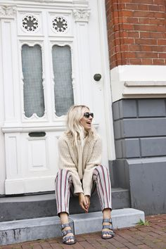 CHAPTER FRIDAY wearing Ganni Chelsea Market Sweater