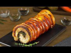 Porchetta Schweinebauch Rollbraten - ein italienisches Rezept für würzigen Braten - YouTube