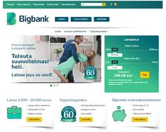 Bigbank.fi - Lainaa 2000 - 20.000 €   VertaaLainaa.fi