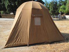 Vintage Troy tent. | vintagetrailerc&.com & My Vintage Umbrella Tent #1