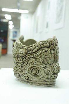 coil art | Coil Pot Ceramic Art by Zhimin Zhai - Coil Pot Fine Art Prints and ...