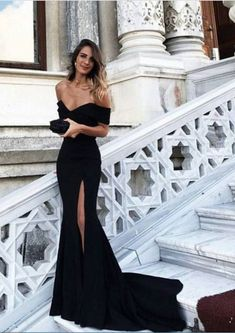 Sexy Leg Slit Long Mermaid Evening Dress Off #prom #promdress #dress #eveningdress #evening #fashion #love #shopping #art #dress #women #mermaid #SEXY #SexyGirl #PromDresses
