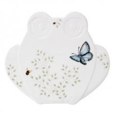 I really need another one of these, since my last trivet got broken!  Lenox 857689 Butterfly Meadow Fig Frog Trivet Lenox…