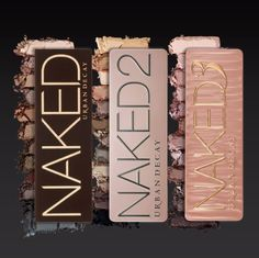 Urban Decay NAKED Palettes  Love these all sooooo much I need this in my life ❤️