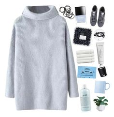 """""""✨ with half an arrow in my chest✨"""" by grunge-alien ❤ liked on Polyvore featuring Chicnova Fashion, adidas, Butter London, Linum Home Textiles, Pantone, Byredo, Monki, Rosenthal and philosophy"""