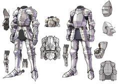 Armor Designs from Pandora Saga