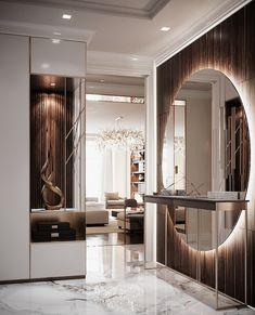 Visual Effects,Interior Design,Digital Art,Autodesk Max,Corona Renderer Home Room Design, Living Room Designs, House Design, Flur Design, Dressing Room Design, Hallway Decorating, Luxury Home Decor, Luxury Apartments, Bathroom Interior