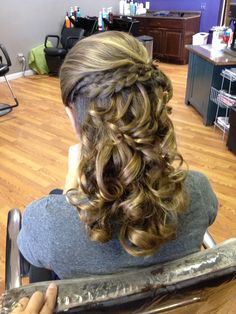 Gorgeous Homecoming Hair