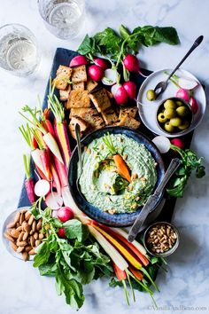 Versatile, make ahead easy and freezer friendly. Serve with the freshest veggies and bits of crusty sourdough or crackers.Pesto-Spinach Whipped Ricotta Dip whips up in no time flat for easy entertaining. vegetarian + gluten free Having snacks on the ready means pulling together an impromptu, lets meet for cocktails on the porchor a last minute...Read More »