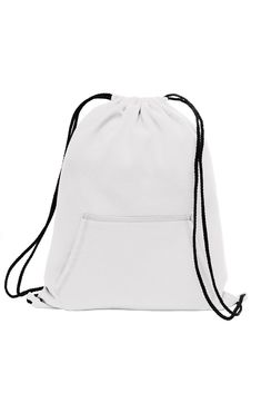 This cotton and poly fleece sweatshirt drawstring backpack is the ultimate  style and fashionable. Feels. Promotional BagsCinch SackDrawstring ... 864d578cec