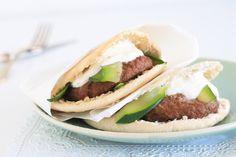 Pitabroodje hamburger – 5 OR LESS