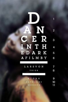 (SDRSP) Dancer in the Dark 2000 (dir. Lars von Trier) Rated 15 - A Danish musical drama - A woman and her landlord confide in one another about their financial problems and their plans for the future.