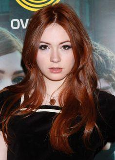 Karen Gillan, redhead