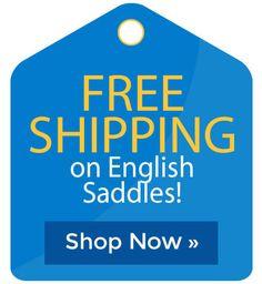 English Saddles - Free Shipping Western Shop, English Saddle, Cyber Monday Sales, Holiday Deals, Black Friday Deals, Western Saddles, Free Shipping