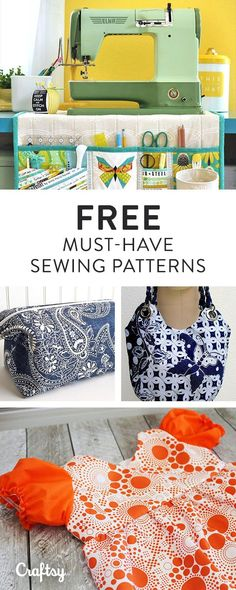 Browse over 2,000 free sewing patterns at Craftsy. Find your favorite and get started on your next project!