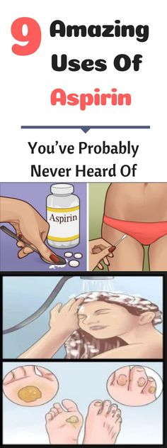 Amazing Remedies 9 Amazing Uses Of Aspirin That You've Probably Never Heard Of! Health And Beauty, Health And Wellness, Health Tips, Health Care, Holistic Wellness, Health Goals, Health Articles, Bites And Stings, Healthy Lifestyle Tips