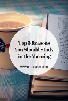 Top 3 Reasons You Should Study in the Morning #collegetips