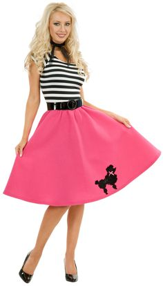 Poodle Skirt Adult Plus Costume 2999