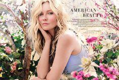 Kirsten Dunst, Harper's Bazaar UK, May 2014.