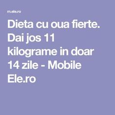 Dai jos 11 kilograme in doar 14 zile - Mobile Ele. Fitness Diet, Health Fitness, Weight Loss Transformation, Keto Recipes, Bodybuilding, Healthy Living, Good Food, Food And Drink, Lose Weight