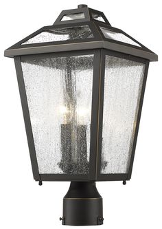 Z-Lite 539PHMR-ORB 3 Light Outdoor Post Mount Light