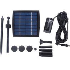 Option for mini-super solar motor pump kit