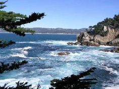 Point Lobos, CA.  Near Carmel.  This picture really doesn't do it justice.  I've been there twice, and it's one of the most beautiful places I've ever seen in my life.  #travel