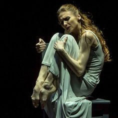 A pic I took of Svetlana #Zakharova in Revelation. Wonderful dancer!