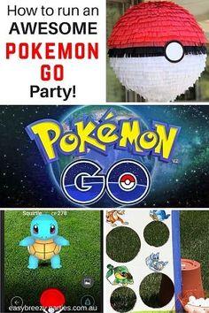 Pokemon Go Party Ideas
