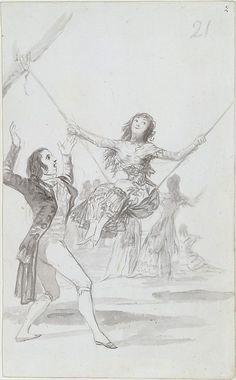 *The Swing* Goya (Francisco de Goya y Lucientes)