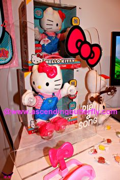 Blip Toys Hello Kitty Dance Time on display at Blogger Bash Sweet Suite 2014 NYC Blogging Conference - http://www.ascendingbutterfly.com/2014/08/to-bloggerbashnyc-with-love.html