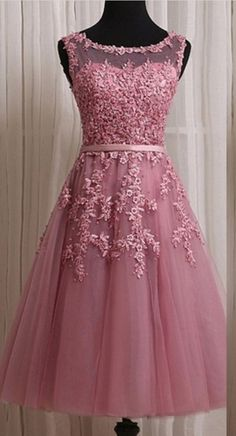 Dusty Pink Homecoming Dresses,Short Lace Homecoming Dresses,Homecoming Dresses#Short Homecoming Dress #HomecomingDresses #Short PromDresses #Short CocktailDresses #HomecomingDresses