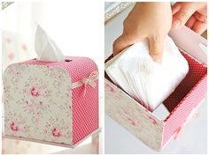 Handmade Tilda Tissue box Handmade Tilda Boxes You Will Want To Make