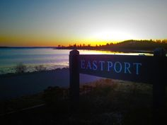 Welcome to Eastport Sign