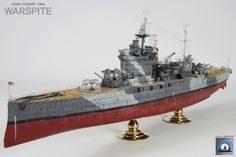 WARSPITE, built by m
