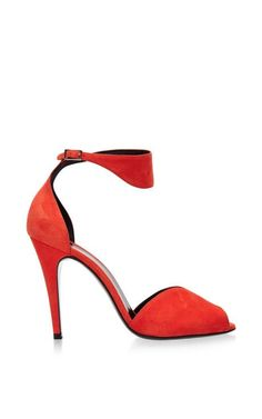 Arletty Suede Sandals by Pierre Hardy Now Available on Moda Operandi